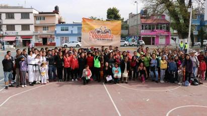 Llega la Vía Recreativa Puebla a San Sebastián de Aparicio