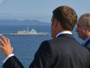Las negociaciones entre Putin y Macron duraron más de 3,5 horas