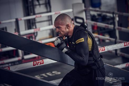 Ludovit Klein ufc fighter at OFA gym with legendary coach Ilja Skondric