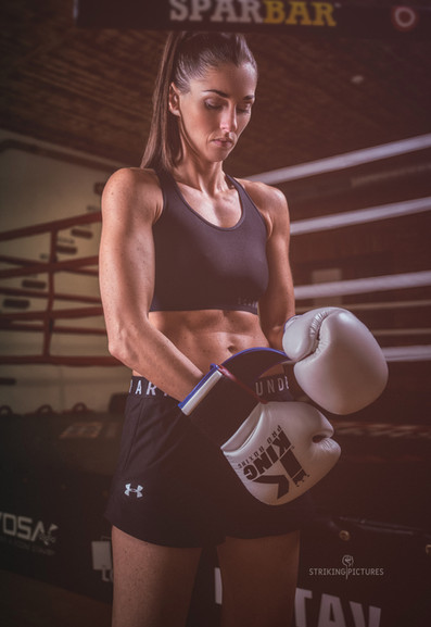 michaela kerlehova kickbox female fighter