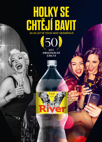 river tonic campaign 50 years
