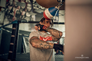 shooting for Nike Boxing brand distributor
