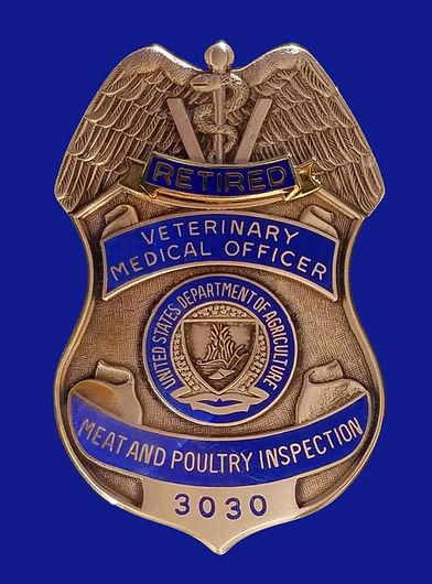 USDA badge (retired)