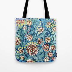 Tote Bags Dots of Flowers.jpg