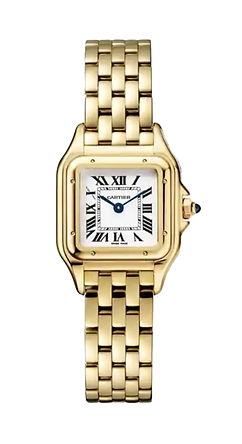 Cartier gold panthere watch