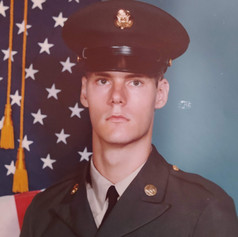Basic Combat Training, Fort Jackson, S.C. 1975.  Twenty years of age.