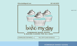 Bake My Day Bethesda This Bethesda, MD-based chef and baker uses her we...