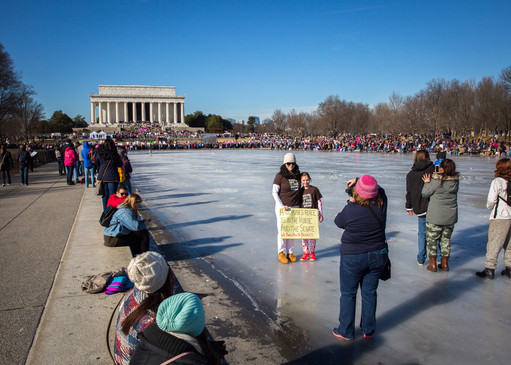 Dummies on the ice!