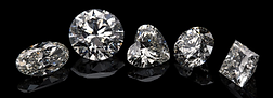 Beautiful loose diamonds in many shapes