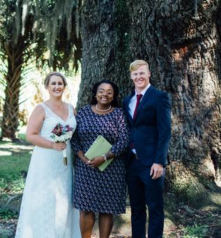 City Park wedding with Waning Moon Weddings