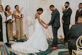 mutli-cultural african wedding