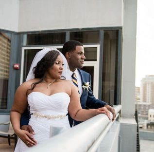 Roofto wedding in New Orleans