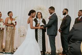 multi-cultural african wedding