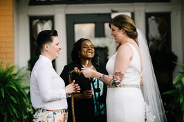 lesbian wedding fishermens knot