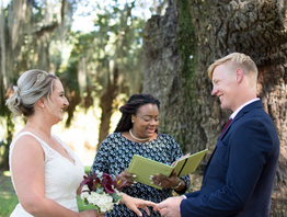 Eloping in New Orleans in City Park