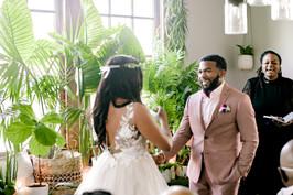 fun wedding ceremony