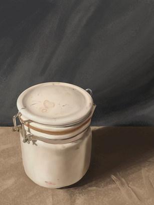 Coffee Creamer Jar Object Study
