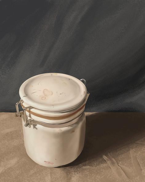 Creamer Jar