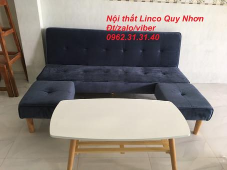 Bộ sofa giường, sofa bed 1m7 Nội thất Linco tại Trần Thị Lý, Ghềnh Ráng, Qui Nhơn, Bình Định