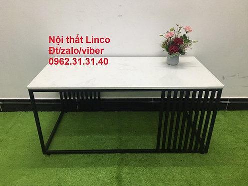Bàn trà sofa BTS05 chữ nhật mặt đá Nội thất Linco Quy Nhơn Bình Định