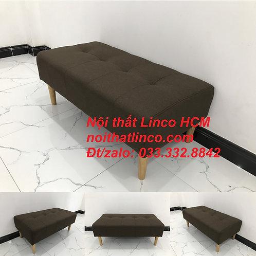 Ghế đôn sofa mini dài 1m cho phòng nhỏ giá rẻ Nội thất Linco HCM