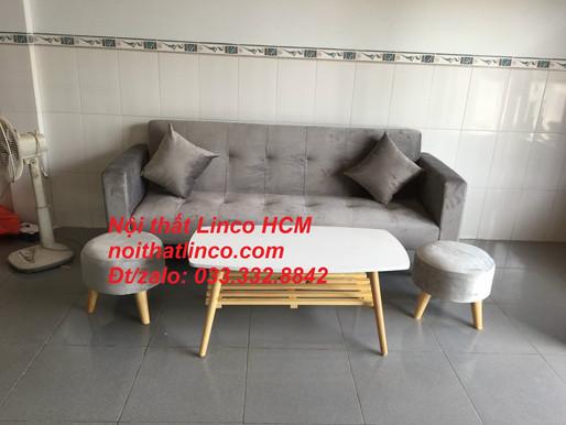Sofa màu xám | Sofa xám lông chuột | Sofa xám tro | Sofa xám trắng | Sofa xám ghi Nội thất Linco HCM
