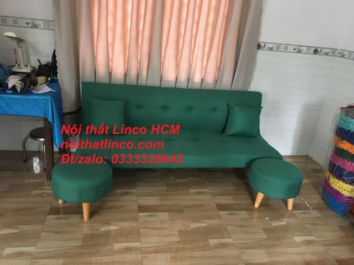 Sofa màu xanh ngọc | Ghế sofa xanh ngọc bích | Sofa giường | Sofa băng | Sofa góc Nội thất Linco HCM