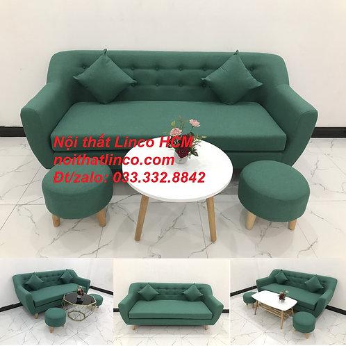Bộ ghế sofa băng dài 1m9 phòng khách nhỏ gọn giá rẻ Tphcm