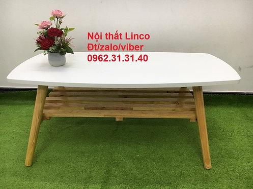 Bàn trà sofa BTS03 chữ nhật ván gỗ MDF chống ẩm