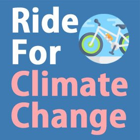 Ride for Climate 스티커