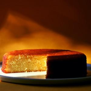 Lemon Drizzle Mashed Potato Cake