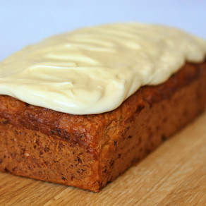 Parsnip, Maple, and Walnut Bread with Cream Cheese Frosting