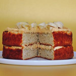 Banoffee Cream Cake (Gluten Free)