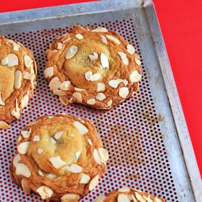 Bakewell Tart Cookies