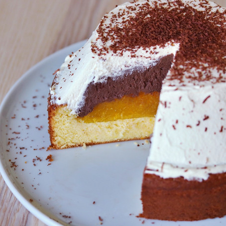 Jaffa Cake Trifle Cake