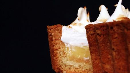 Lemon and White Chocolate Meringue Pie
