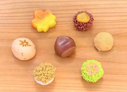 季節の上生菓子 亀屋則克