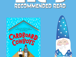 Book Review: Cardboard Cowboys by Brian Conaghan