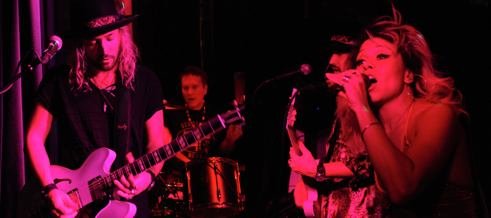 Adam Roth, Charly Roth, and Liza Colby of Liza Colby Sound