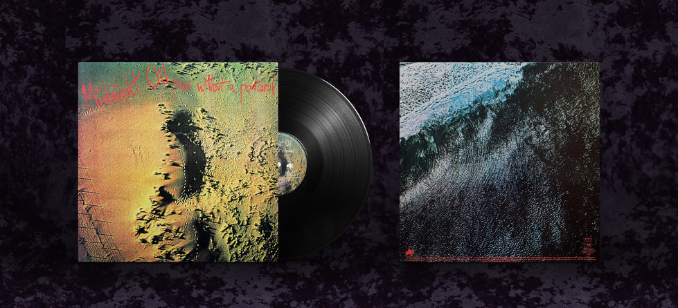 """Midnight Oil """"Place Without A Postcard"""" cover photography"""