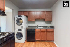 In unit washer and dryer