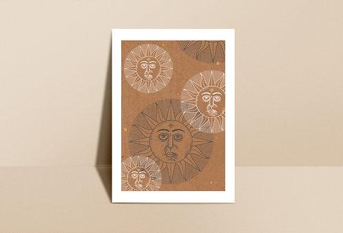 De Sol á Sol Art Print