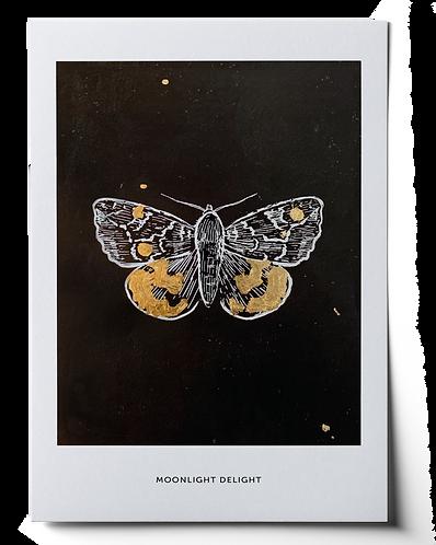 Moonlight Delight Art Print