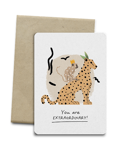 You are Extraordinary! Melocard