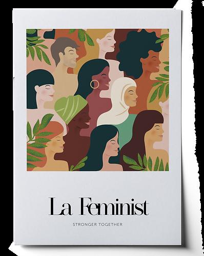 La Feminist Art Print