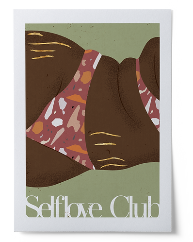Selflove Club Art Print