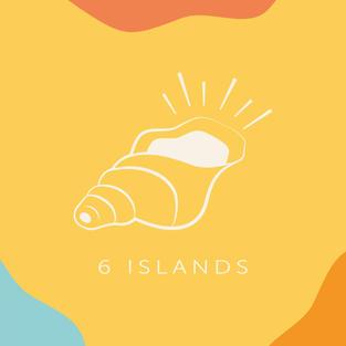 6 islands