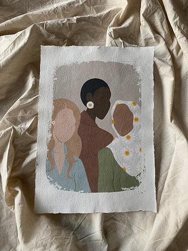 Power Woman Art Print