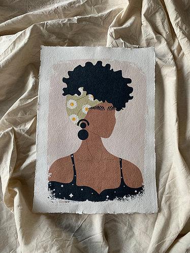 Juana Art Print