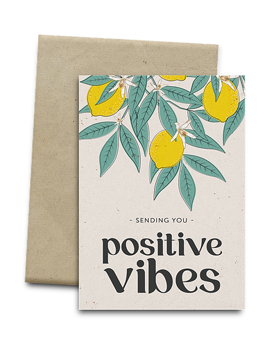 Positive Vibes Melocard